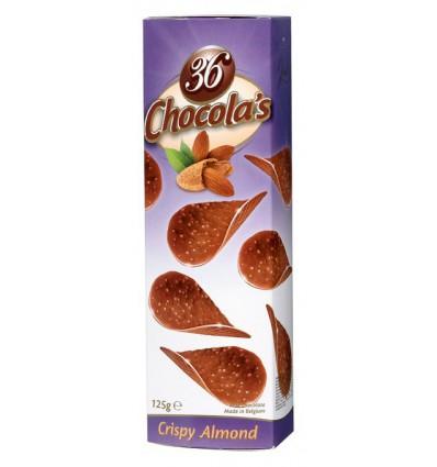 Hamlet - mléčné čokoládové chipsy s mandlemi 125g