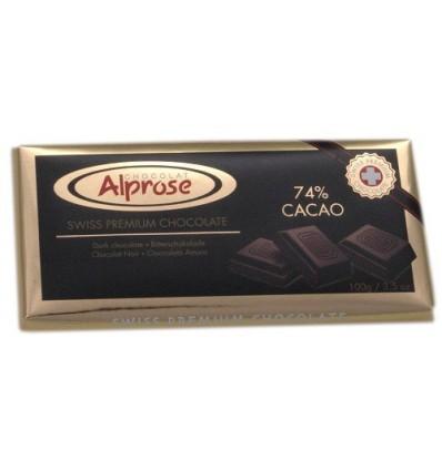 Alprose - hořká čokoláda 74% kakaa 100g