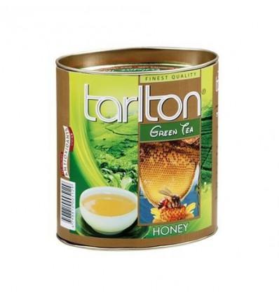Tarlton - zelený sypaný čaj aromatizovaný - Med malá dóza 100g