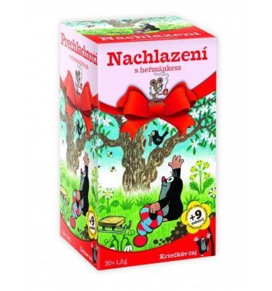 Apotheke - Dětský čaj Krteček - Nachlazení s heřmánkem 20x2g