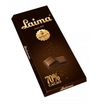 Laima - Hořká čokoláda 70% porézní (bublinky) 90g
