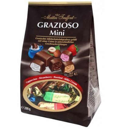 Maitre Truffout - Čokoládové pralinky-Grazioso Mini MIX 200g