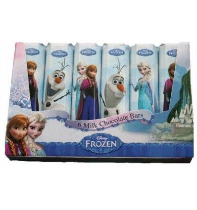 Steenland - Frozen čokoládové tyčinky (6ks)  84g
