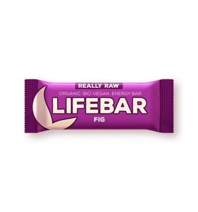 Lifefood - LIFEBAR tyčinka FÍKOVÁ BIO/RAW/VEGAN/BEZ LEPKU-CUKRU-LAKTOZY 47g