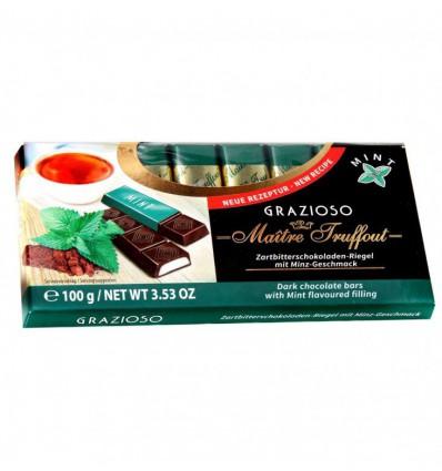 Maitre Truffout - Grazioso čokoládové tyčinky Máta 100g