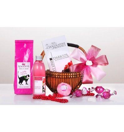 Dárkový koš - Mini pink