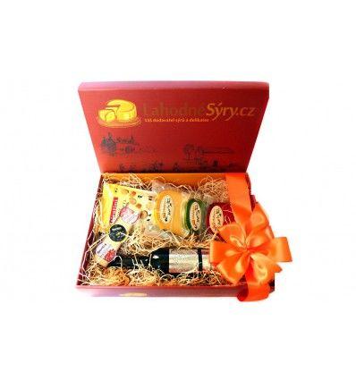 Dárková krabice - Lahodné sýry
