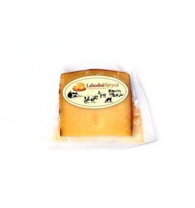 Lahodné sýry - Gouda sýr Farmářská Klaver med - VÝSEK CCA 120g
