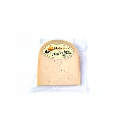 Lahodné sýry - Kozí sýr Maasdam - VÝSEK CCA 120g