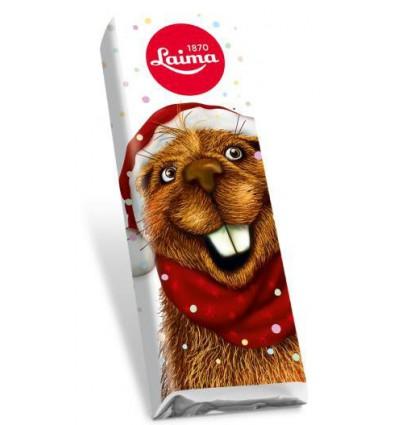 Laima - Vánoční mléčná čokoládka ZVÍŘÁTKO 18g
