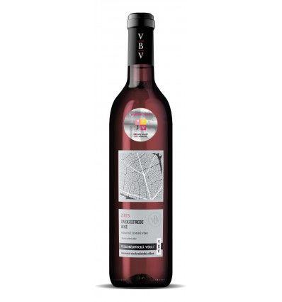 Velkobílovická vína - Zweigeltrebe rosé 2015, zemské, polosladké 0,75l